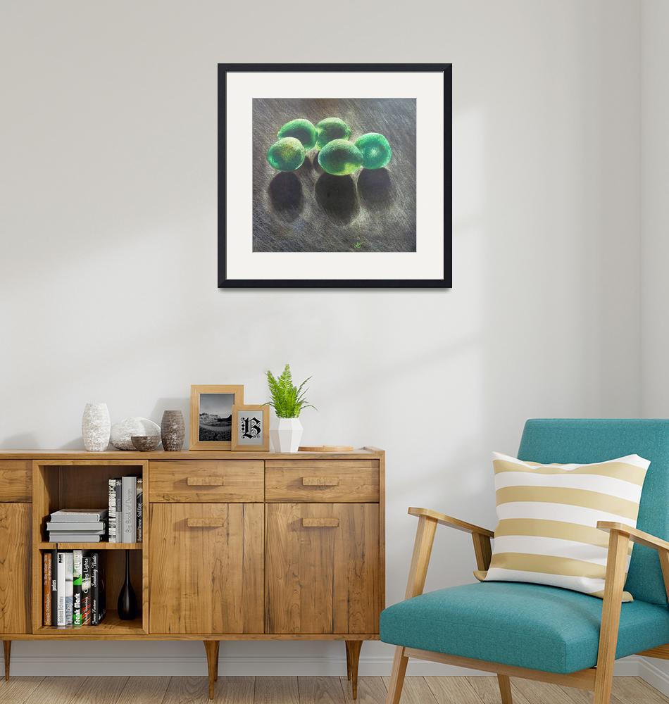 """""""Limes Still Life Colored Pencil""""  by lonisart570"""