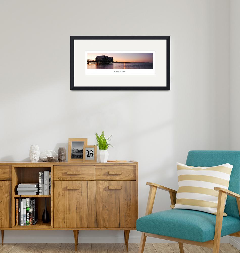 """""""Sunset over Busselton Jetty""""  (2008) by d3d"""