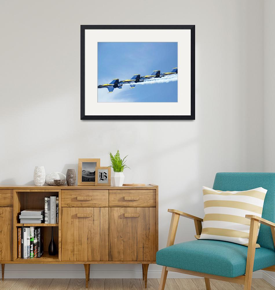 """""""blue angels"""" (2008) by mgreen"""