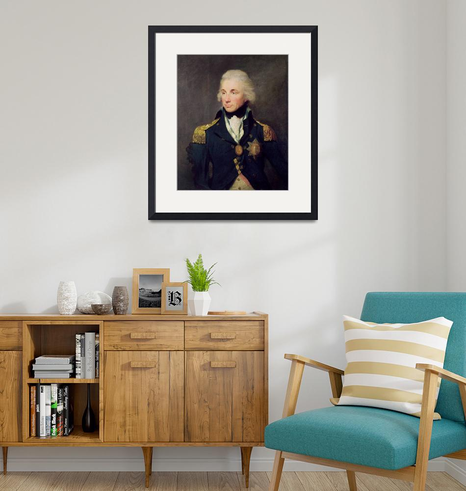 """Portrait of Horatio Nelson""  by fineartmasters"