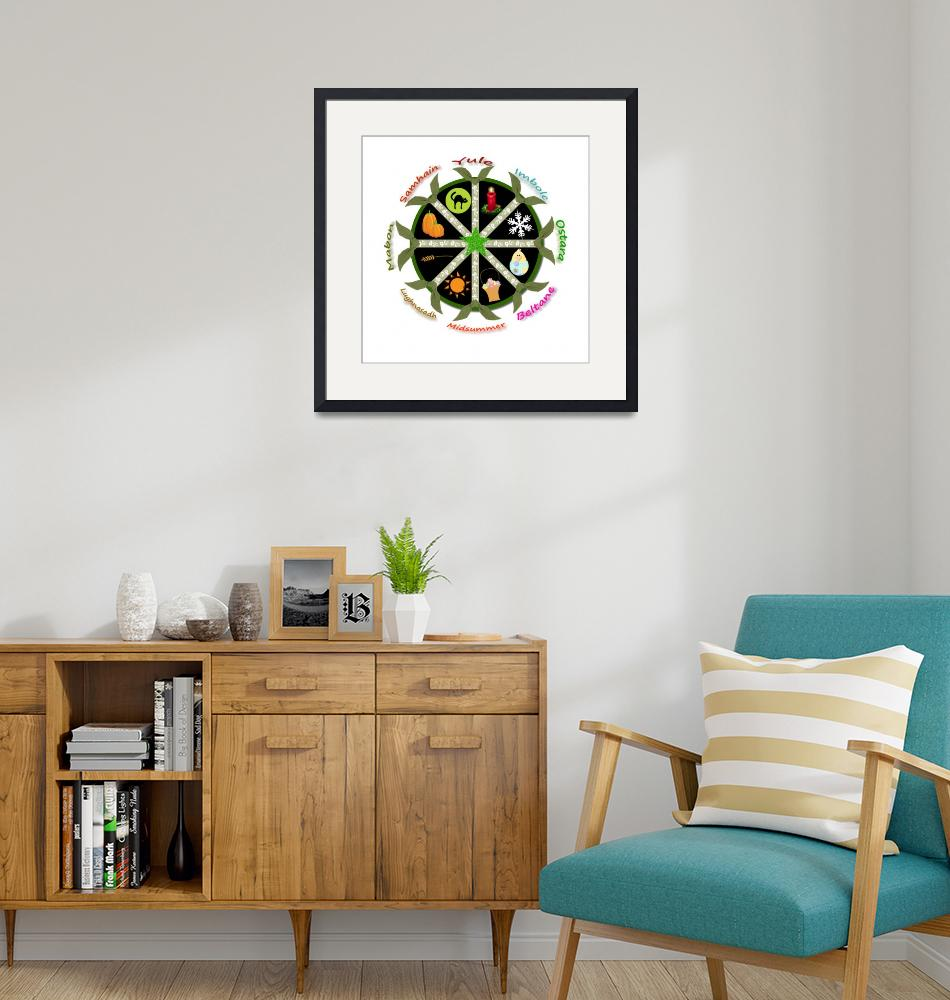 """""""Wheel of the Year""""  (2011) by WytchwoodCottage"""