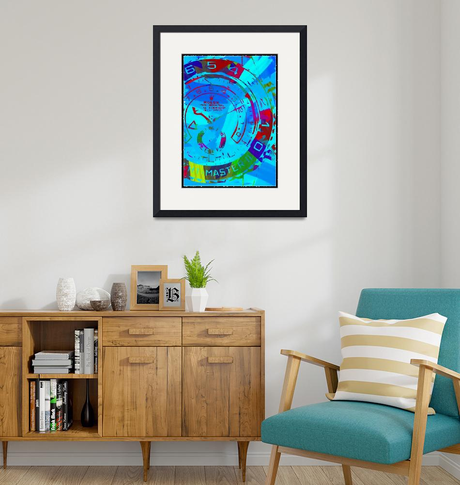 """""""Abstract Rolex Paint 6""""  by palmsrick"""
