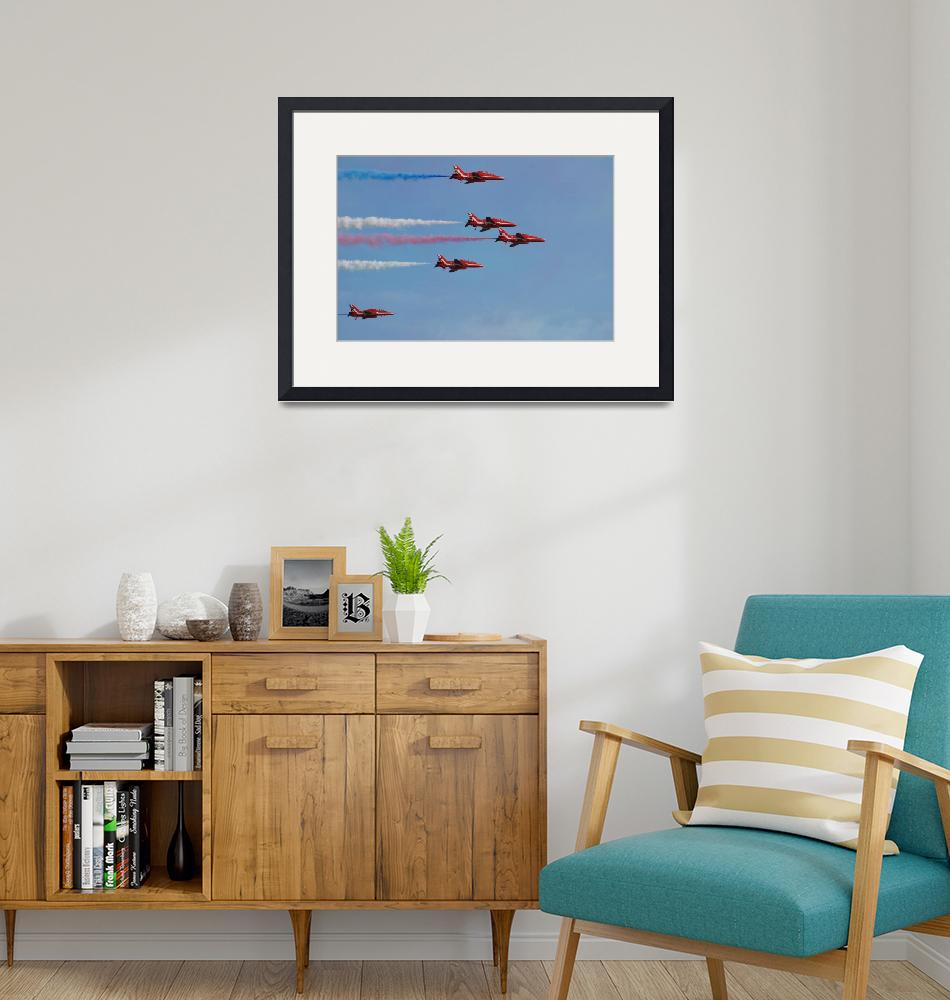 """""""The Red Arrows at Hastings""""  (2018) by DavidFowler"""