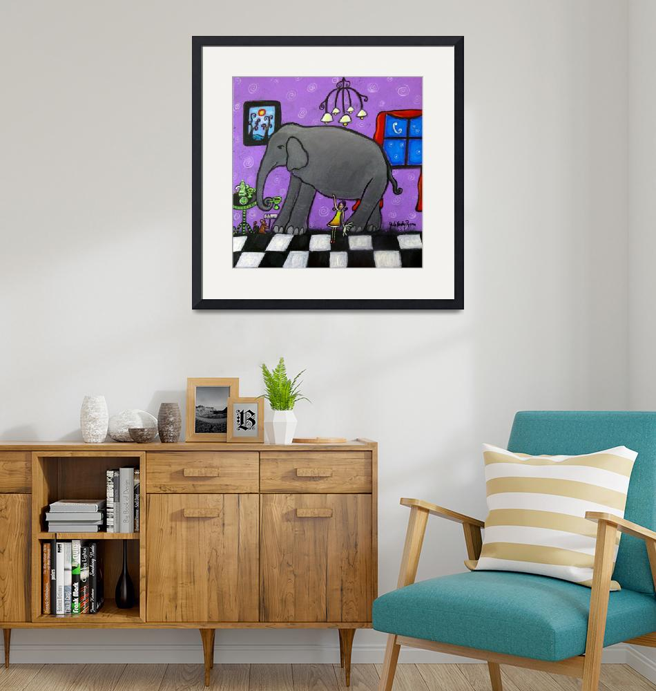"""""""The Elephant In The Room""""  (2014) by juliryan"""