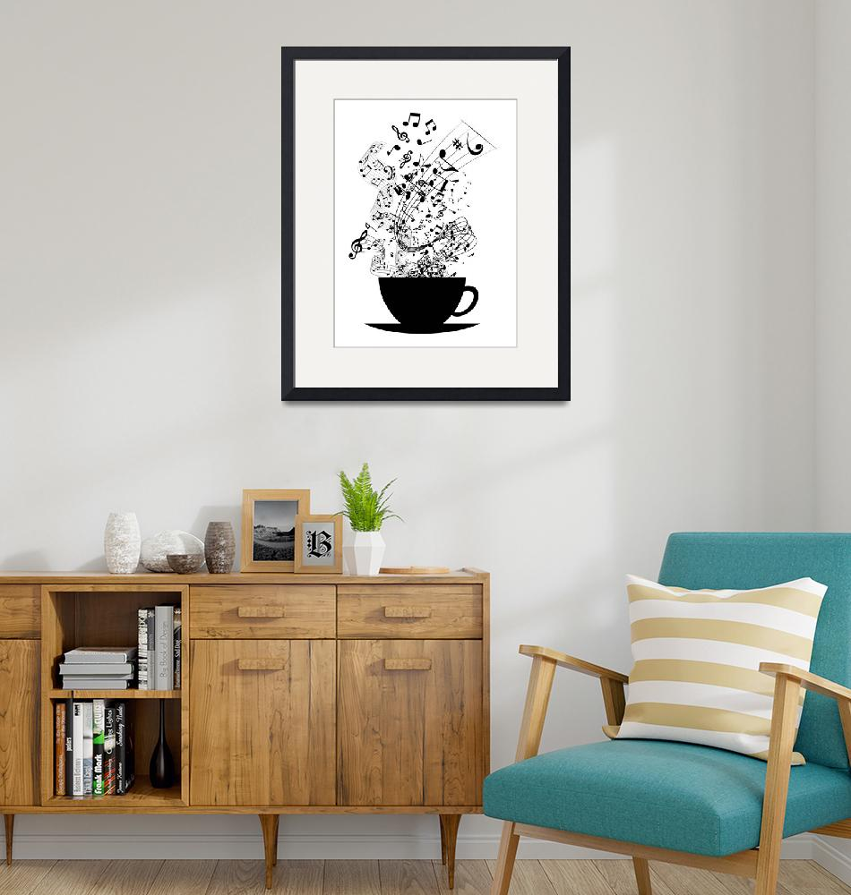 """""""Cup of Music""""  (2015) by juyodesign"""