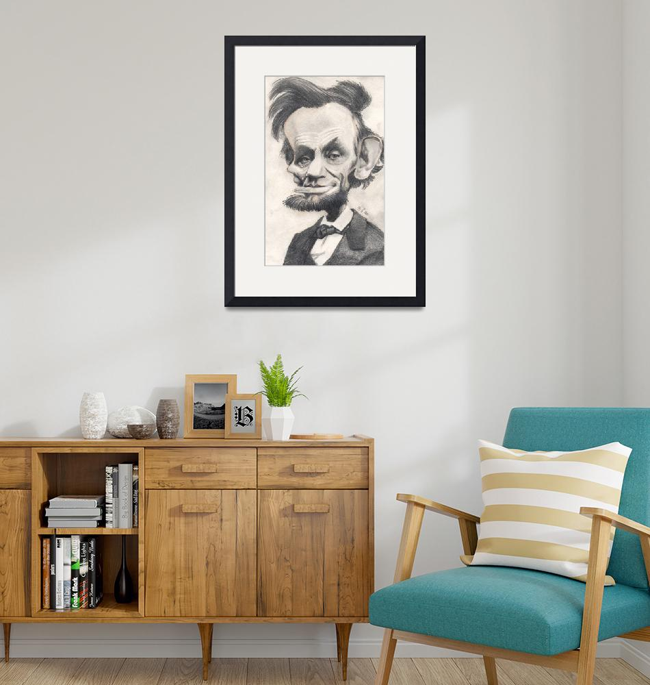 """Abraham Lincoln""  by odea"