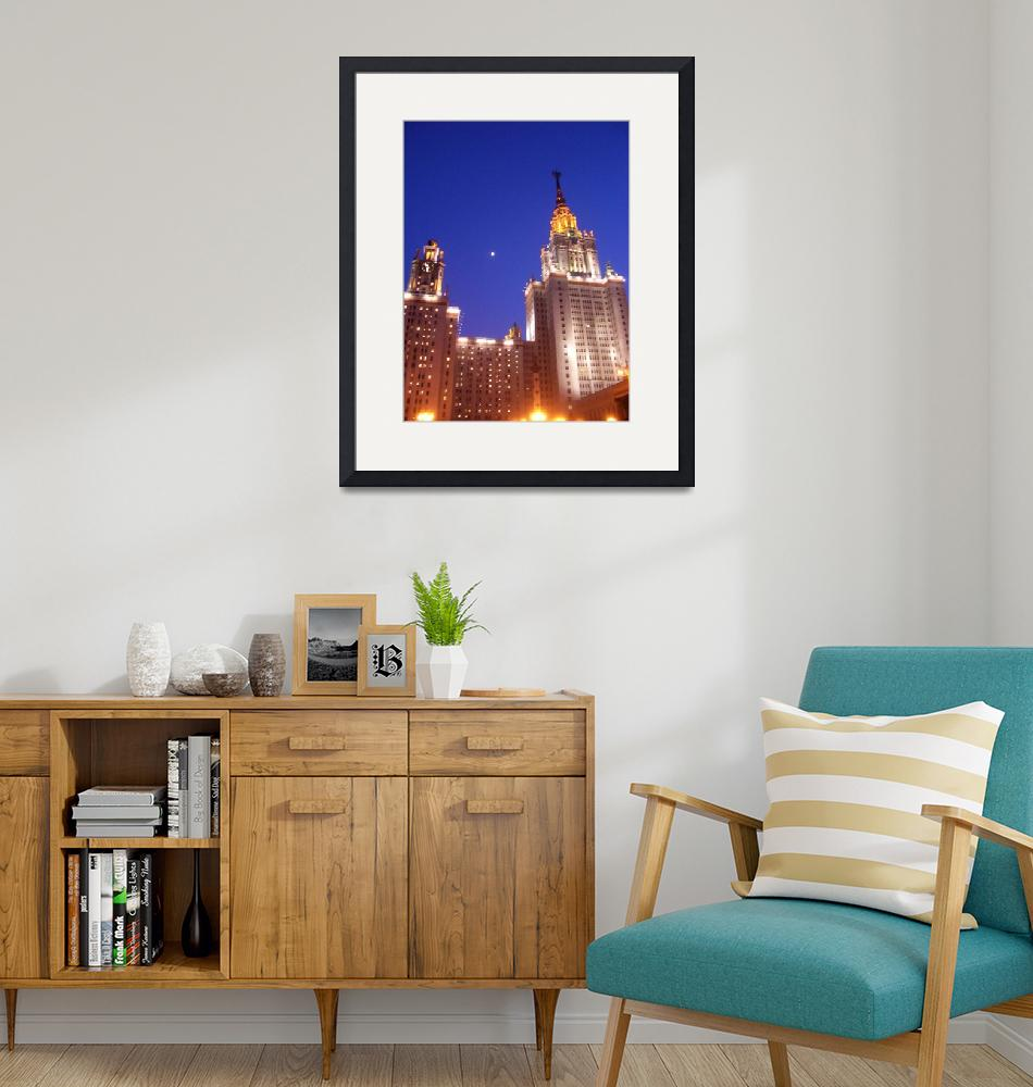 """""""Moscow State University""""  (2007) by ArtYourLife"""