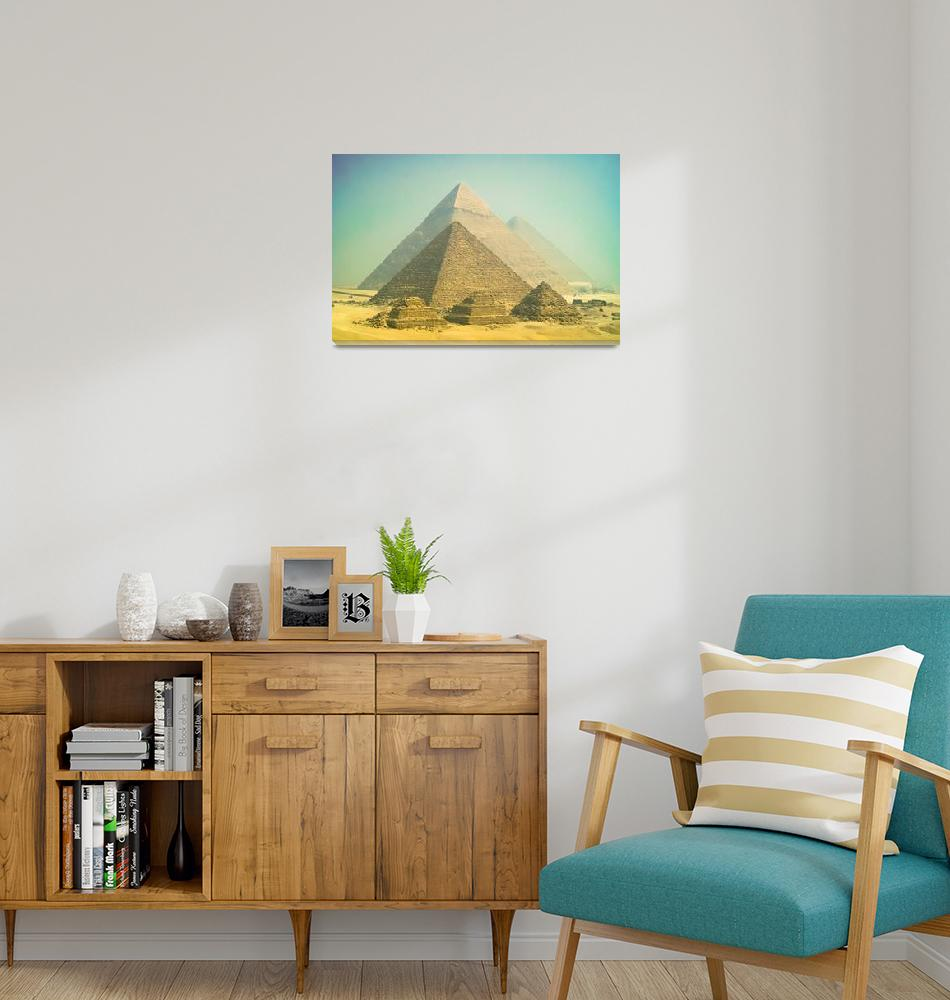 """""""Giza in the morning""""  (2013) by motleymenagerie"""