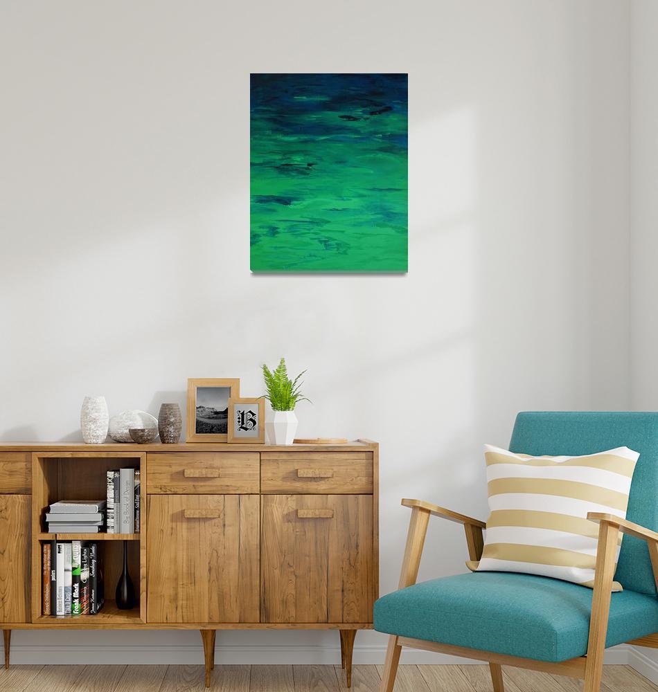 """Beach Waters in Paradise""  by CatWalker"