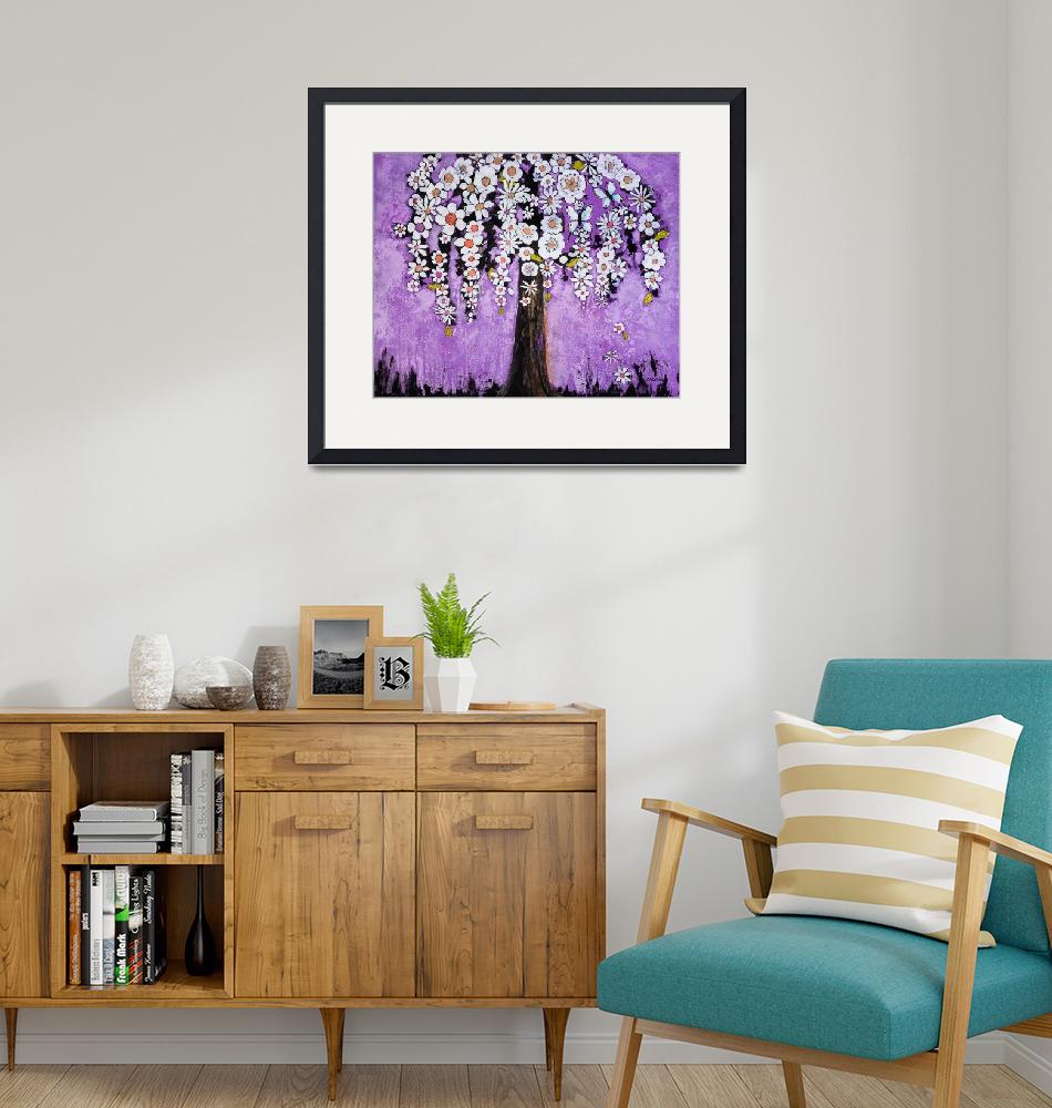 """""""Flowers and Butterfly Tree"""" (2014) by BlendaStudio"""