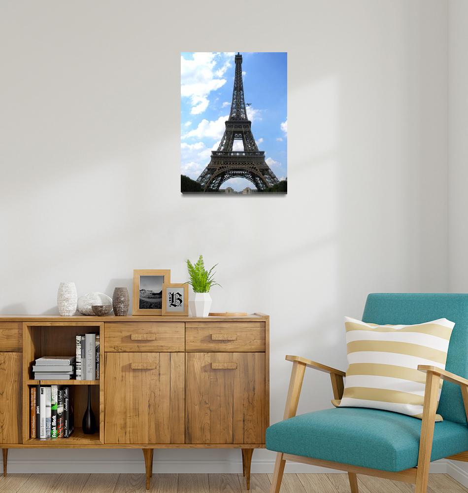 """Eiffel Tower""  (2009) by A-Moment-In-Time"