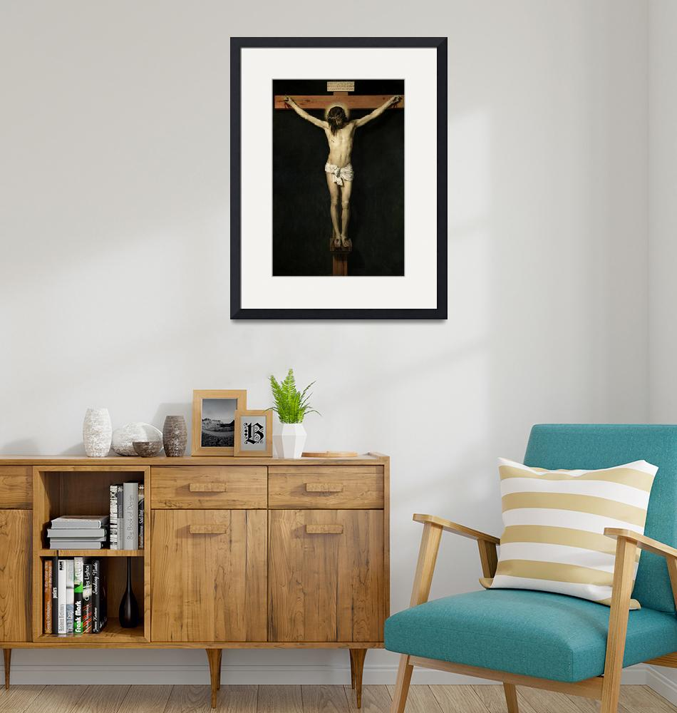 """""""Jesus Christ Crucified""""  by reproductions"""