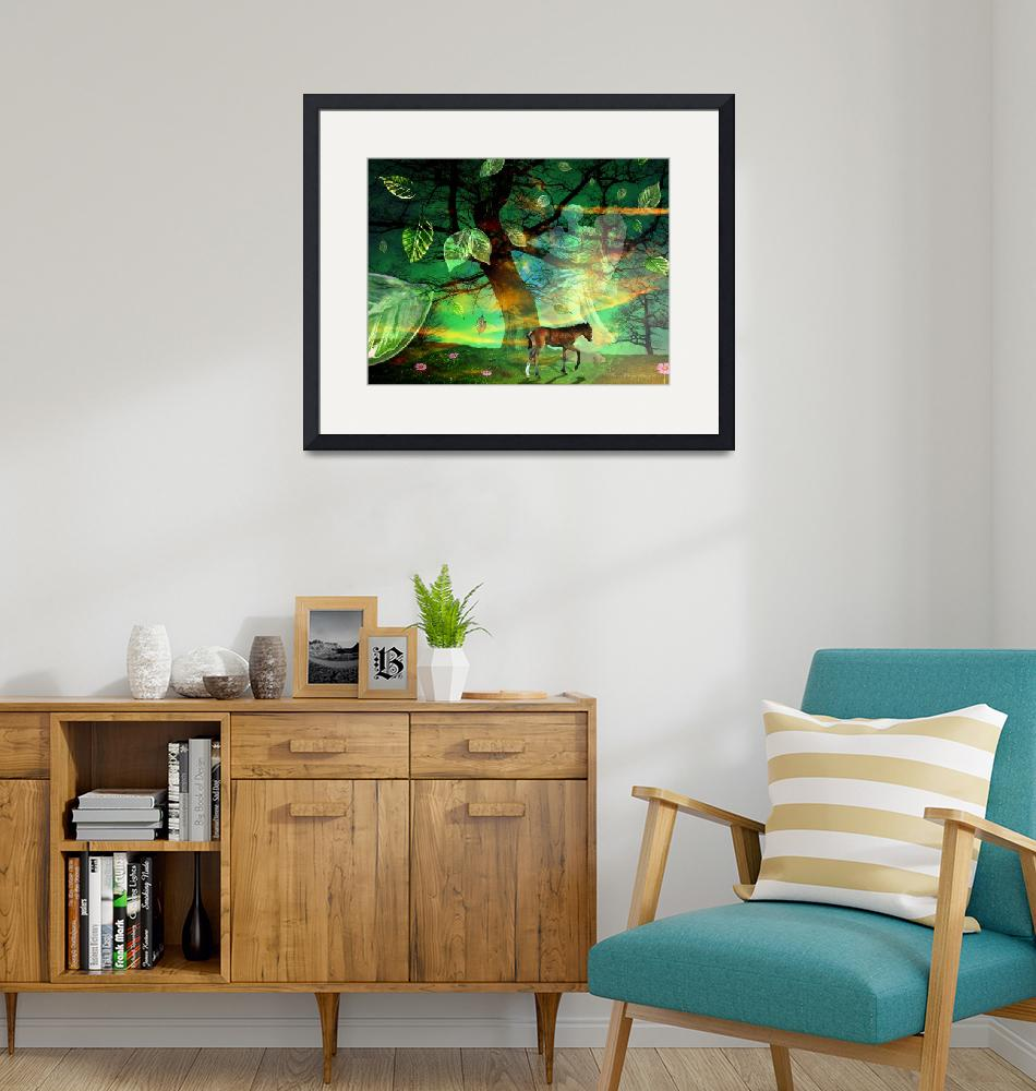 """""""The Emerald Forest""""  (2009) by ArteZoe"""