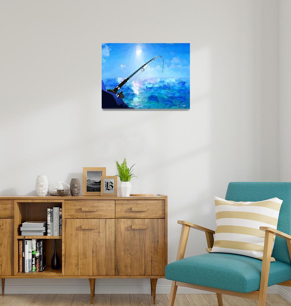 """Deep Sea Fishing""  (2014) by jimtignor"