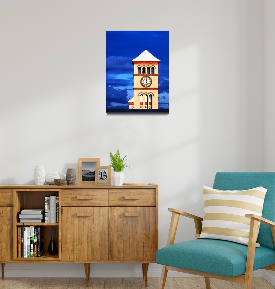 """""""Clock Tower - 5:02pm""""  by TomQ"""