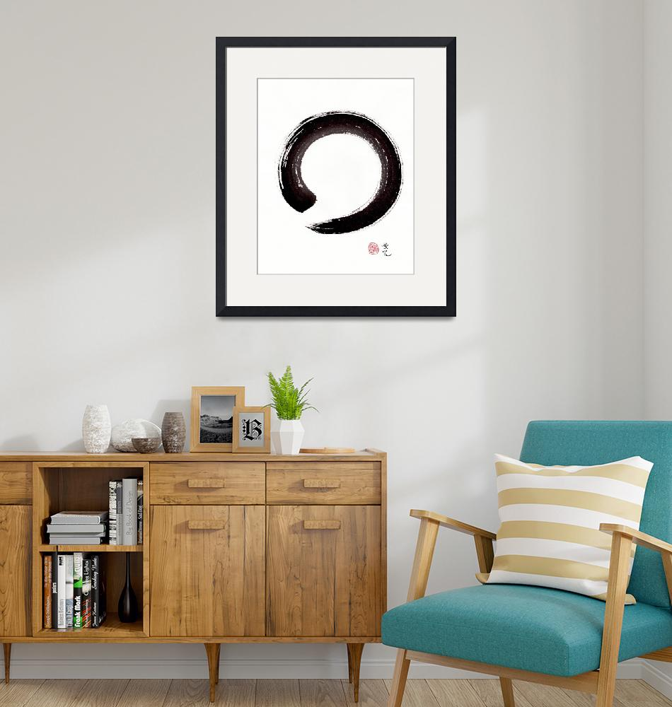"""Enso - Embracing Imperfection""  (2016) by oystudio"