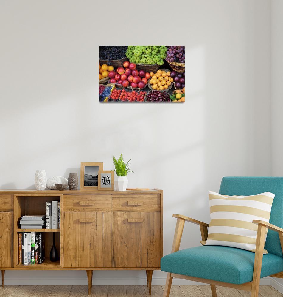 """Mediterranean Fruits""  (2010) by Inge-Johnsson"