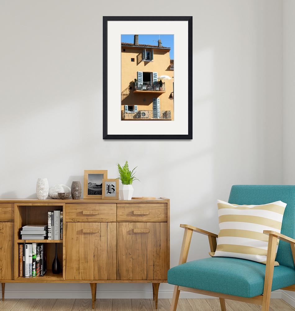"""""""Provencal house with a view""""  (2010) by CarrieWaters"""
