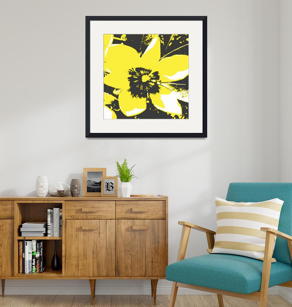 """""""Blooming Yellow""""  (2013) by HerbDickinson"""