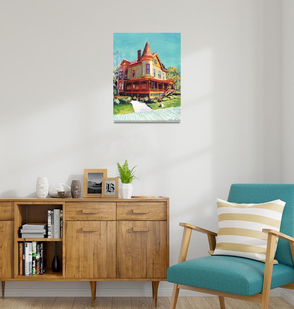 """Historic Christian House""  (2011) by RDRiccoboni"