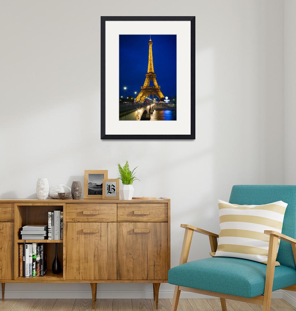 """Eiffel Tower by Night""  (2012) by Inge-Johnsson"