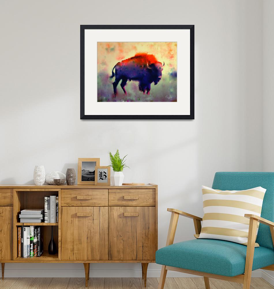 """Bison""  (2011) by rosalin"