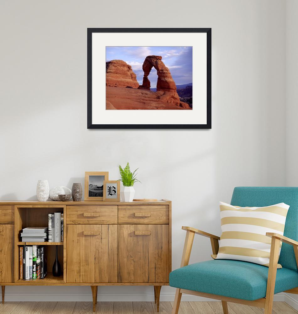 """""""Delicate Arch""""  (2003) by FindleyPhoto"""