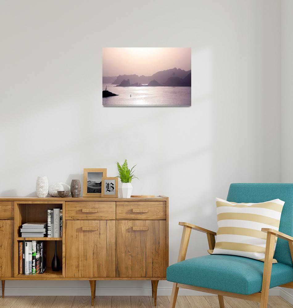 """Oman sunrise""  by DonnaCorless"