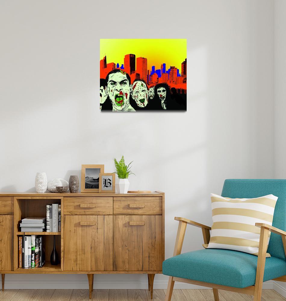 """""""Zombie City""""  (2010) by jimlap"""
