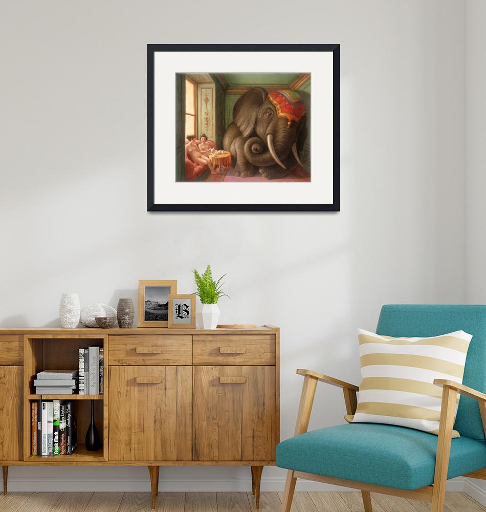"""""""Elephant in the Room"""" (2013) by MarkBryan"""