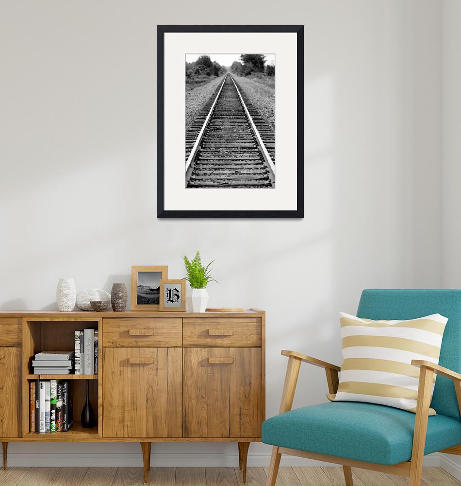 """""""Railroad Tracks to Your Dreams""""  (2011) by APerfectMomentPhotography"""