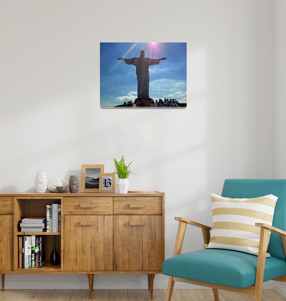 """""""christ-317411EX""""  by ArtLoversOnline"""