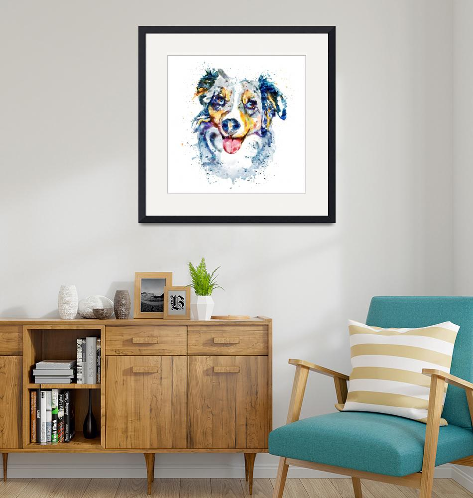 """""""Border Collie""""  (2017) by MarianVoicu"""