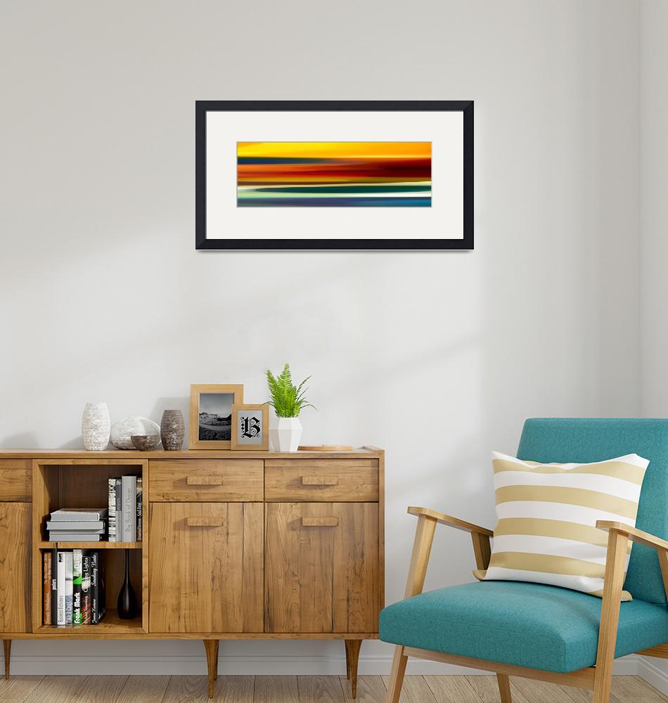"""""""Fury Seascape Panoramic 2""""  (2013) by AmyVangsgard"""