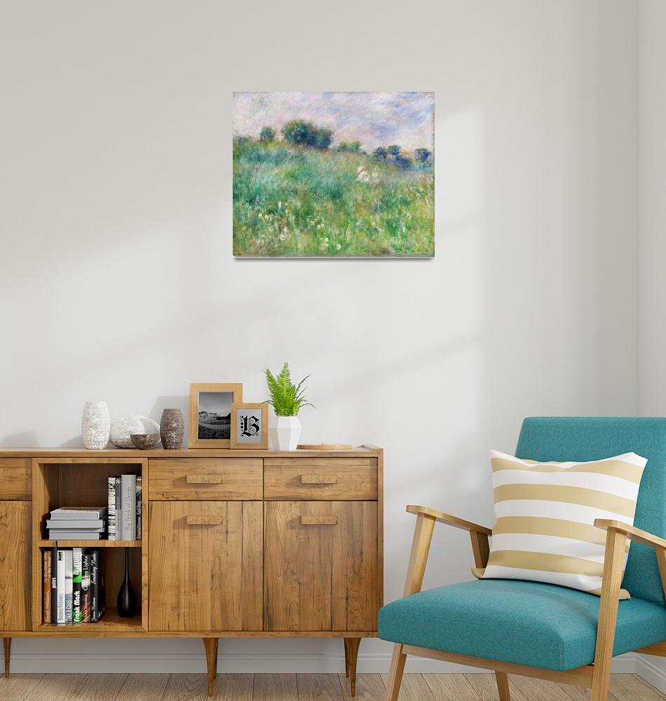 """""""Meadow by Renoir""""  by FineArtClassics"""