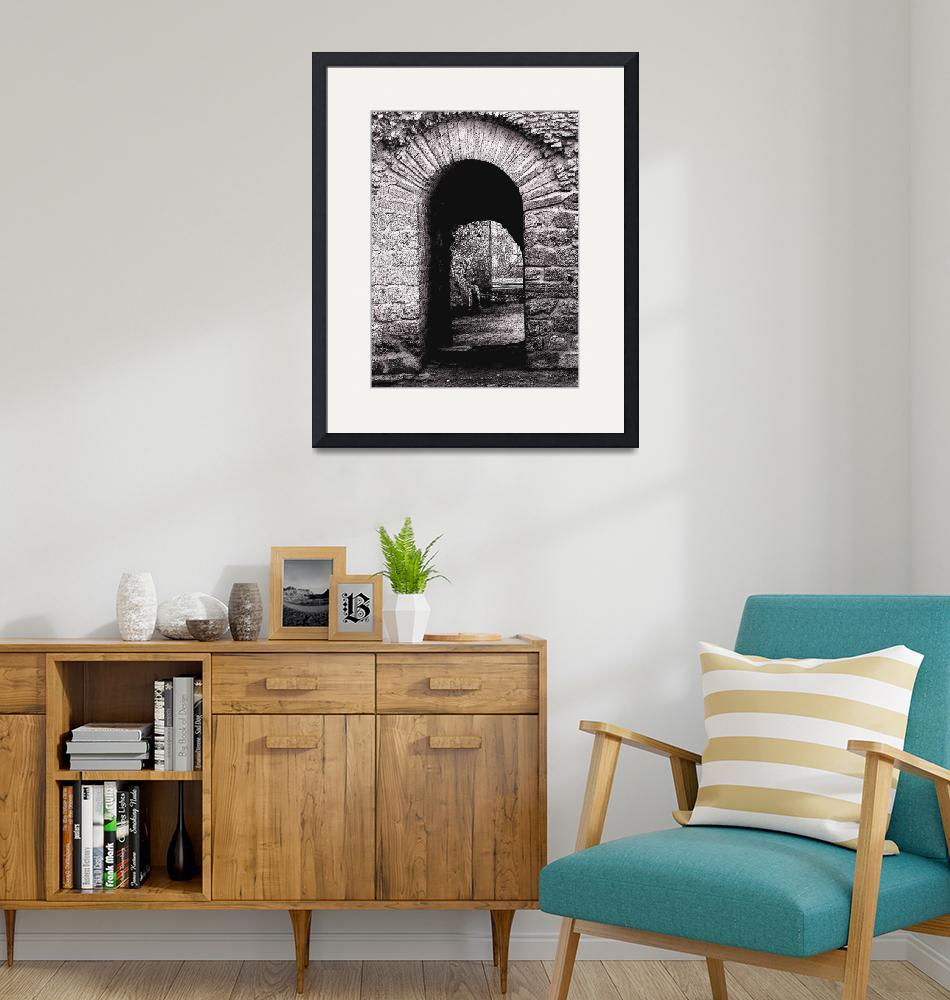 """Carthage Arches""  (2007) by rayjacque"