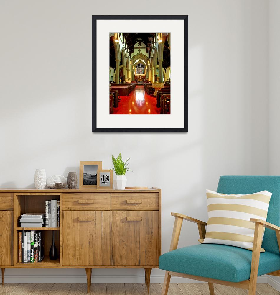 """""""Sanctuary Christ Church Cathedral (2)""""  (2010) by Markomarko"""