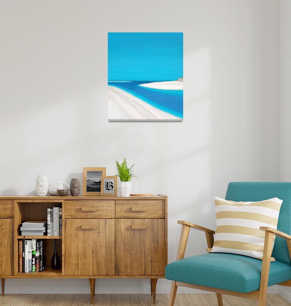 """Beach""  by MasonCornishArts"