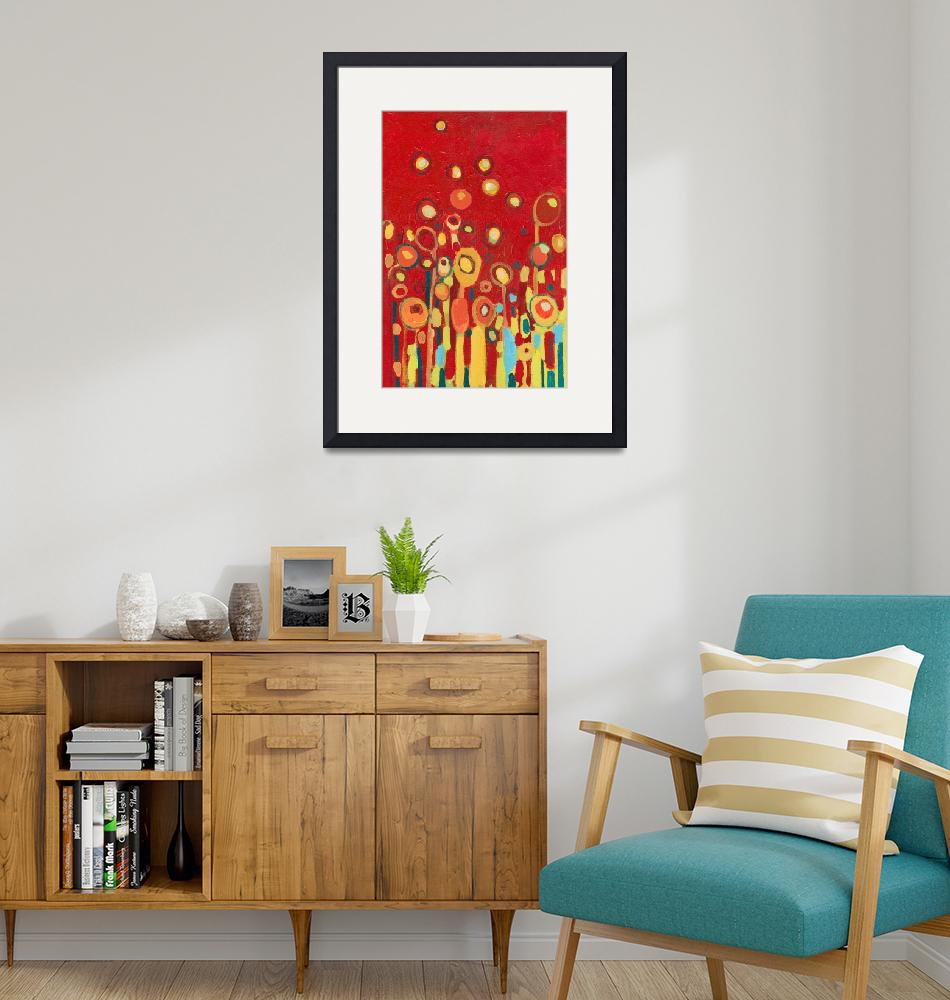 """""""Growing in Red No 2""""  (2009) by JENLO"""