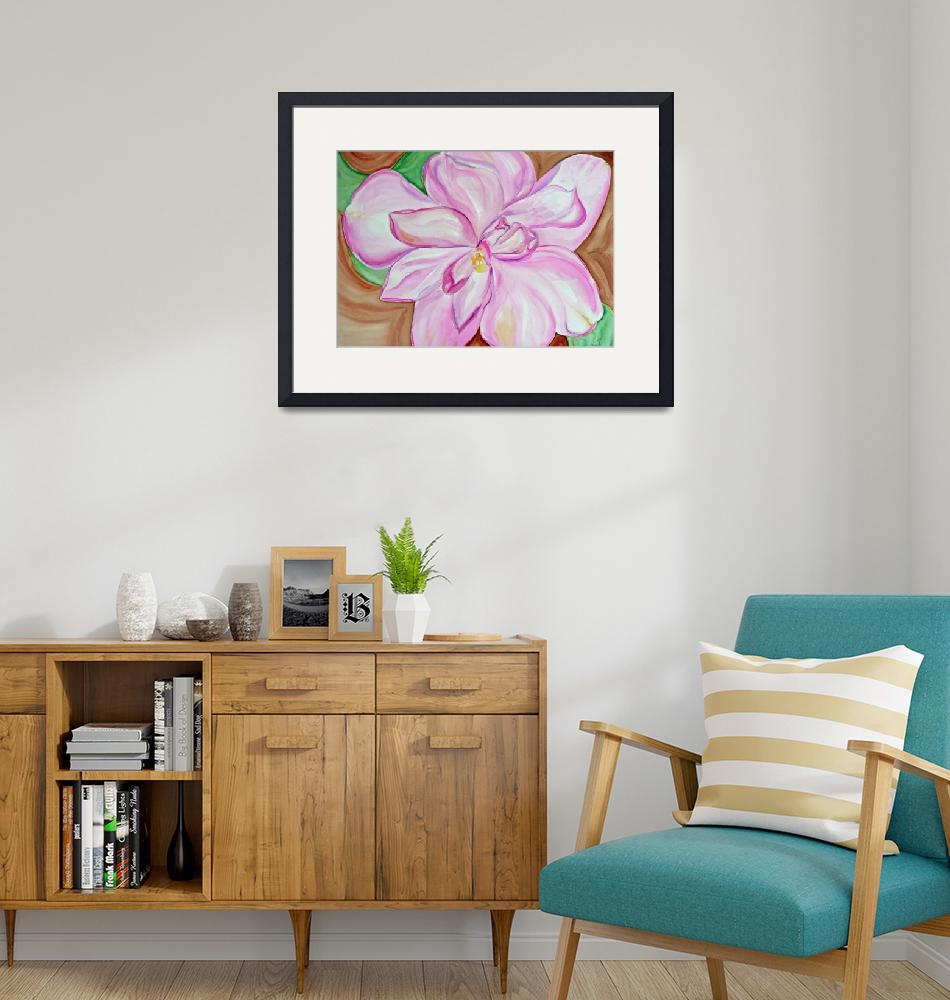 """""""Pink Camellia""""  by lorisart"""