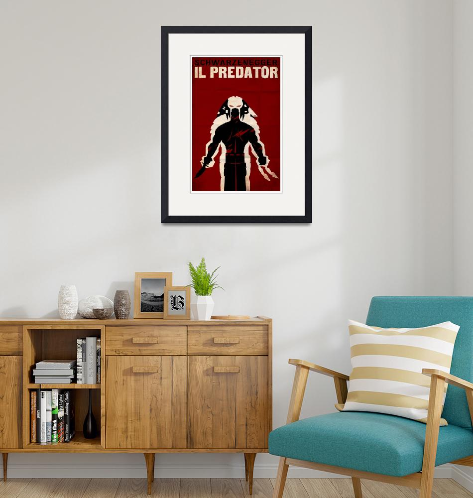 """PREDATOR (italian)""  (2009) by TravisPitts"