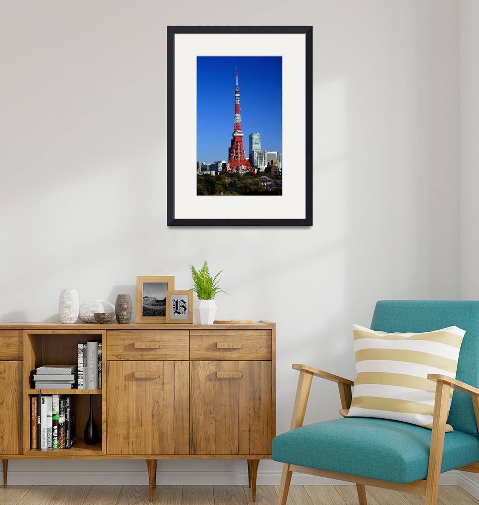 """""""Tokyo Tower, Morning""""  (2014) by JoaoPonces"""