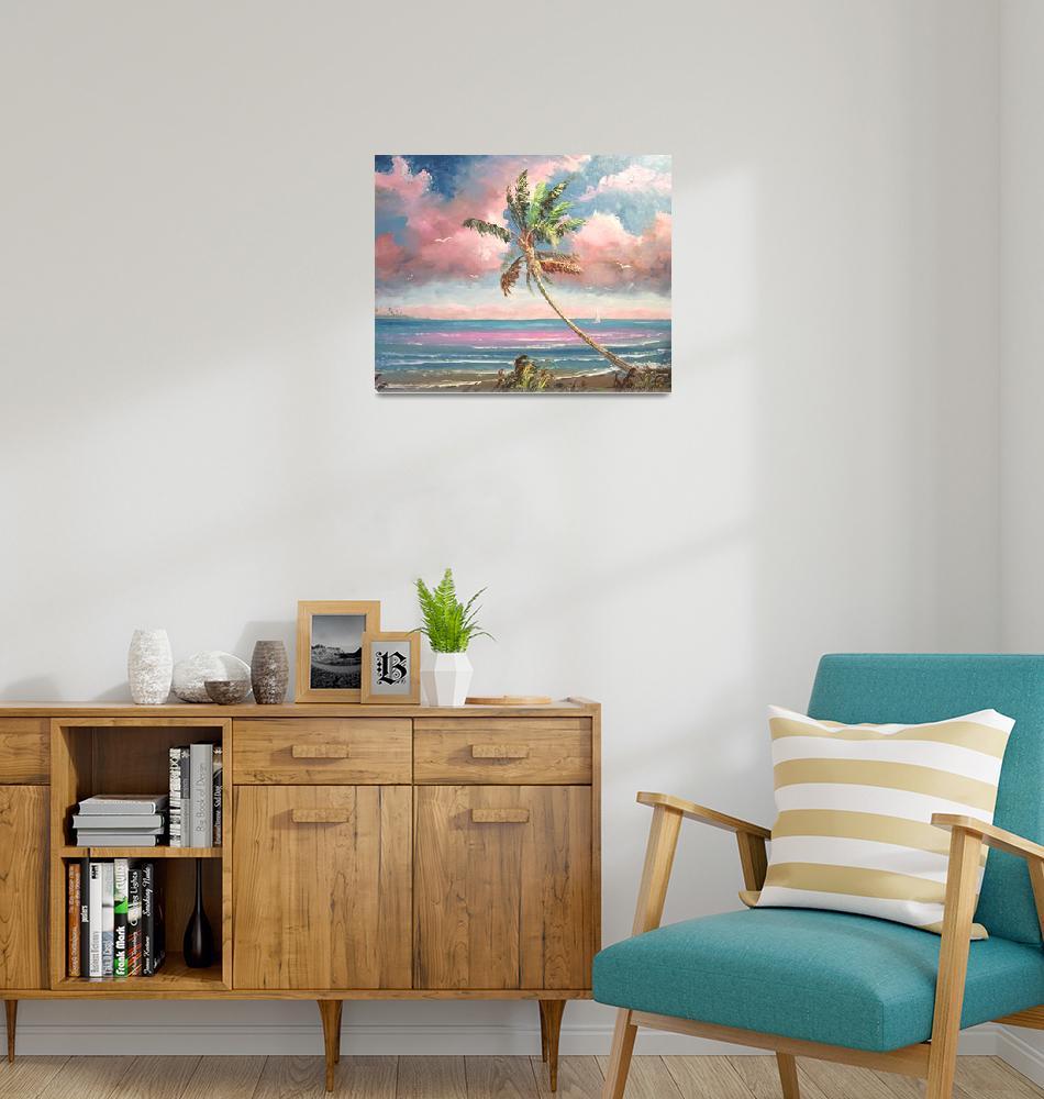 """""""Beach Lagoon""""  (2009) by mazz"""