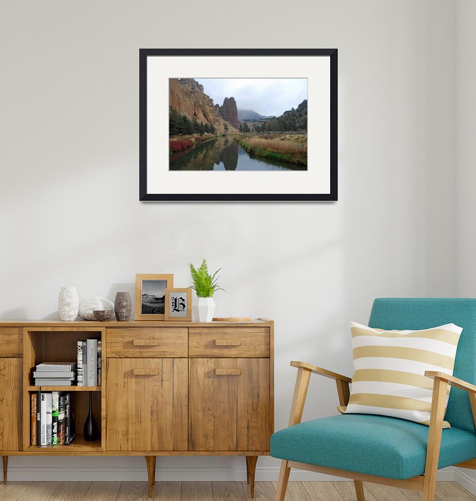 """""""Smith Rock State Park""""  by North22Gallery"""