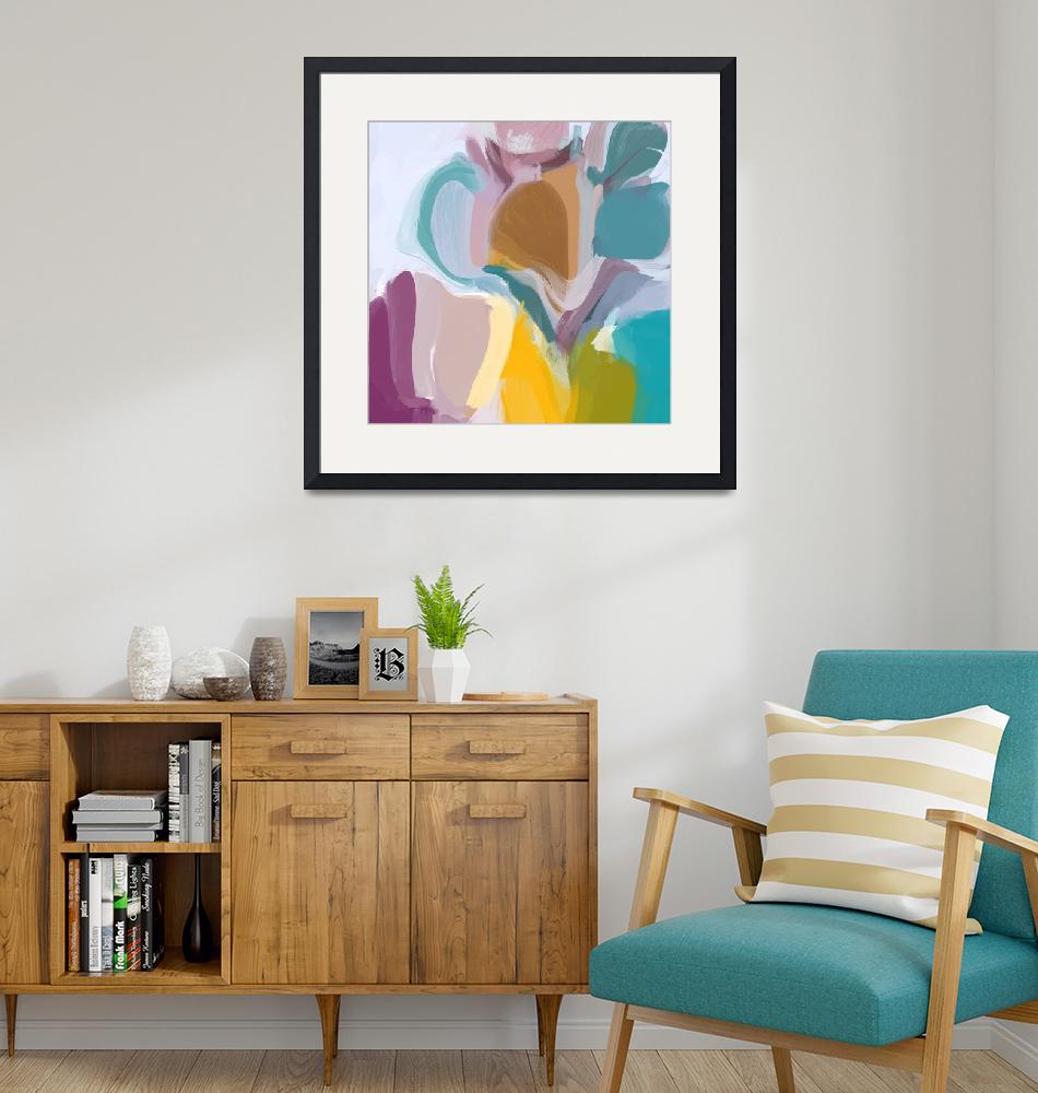 """Abstract Colorful Art""  by Aneri"
