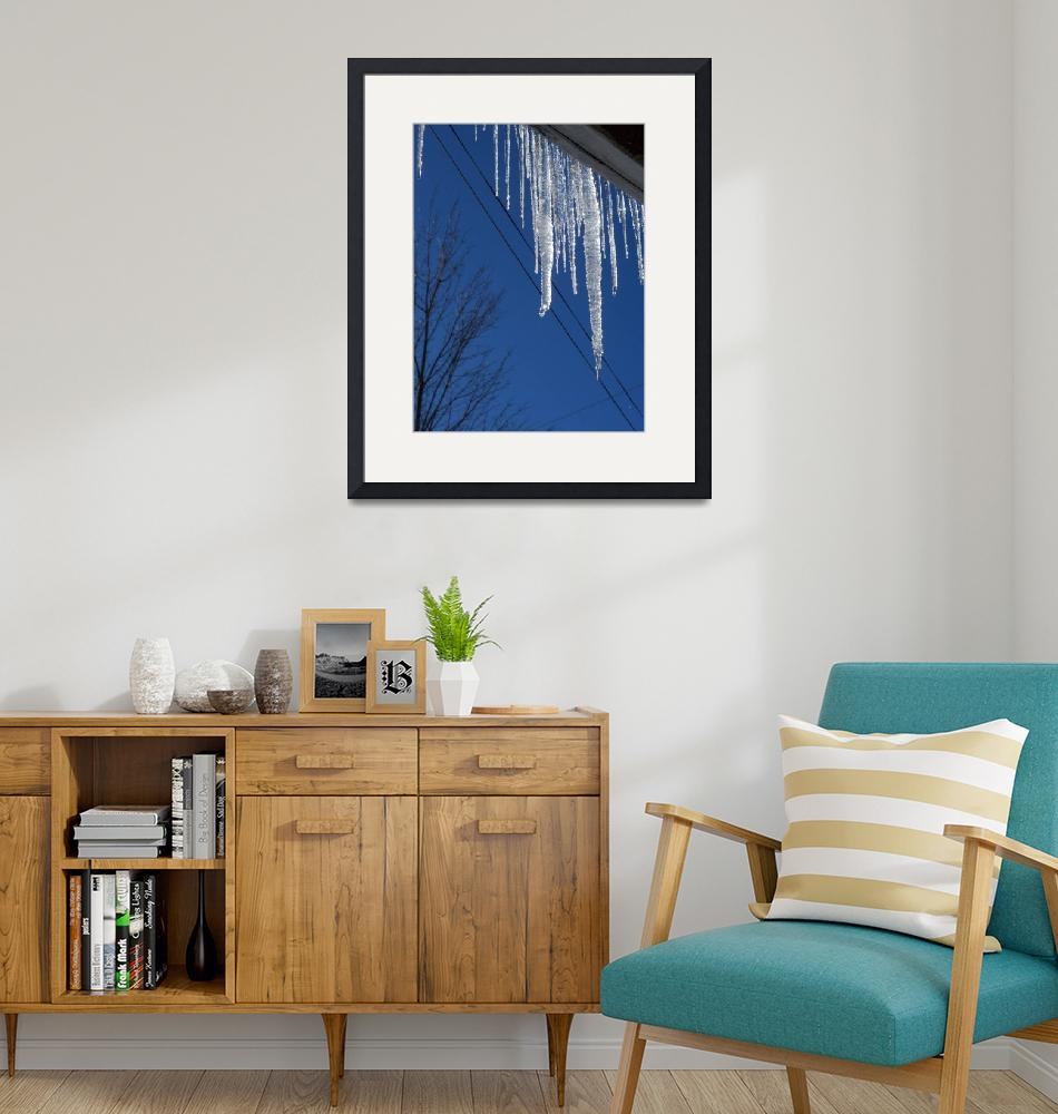 """""""Icecicles""""  (2011) by Mistilyn"""