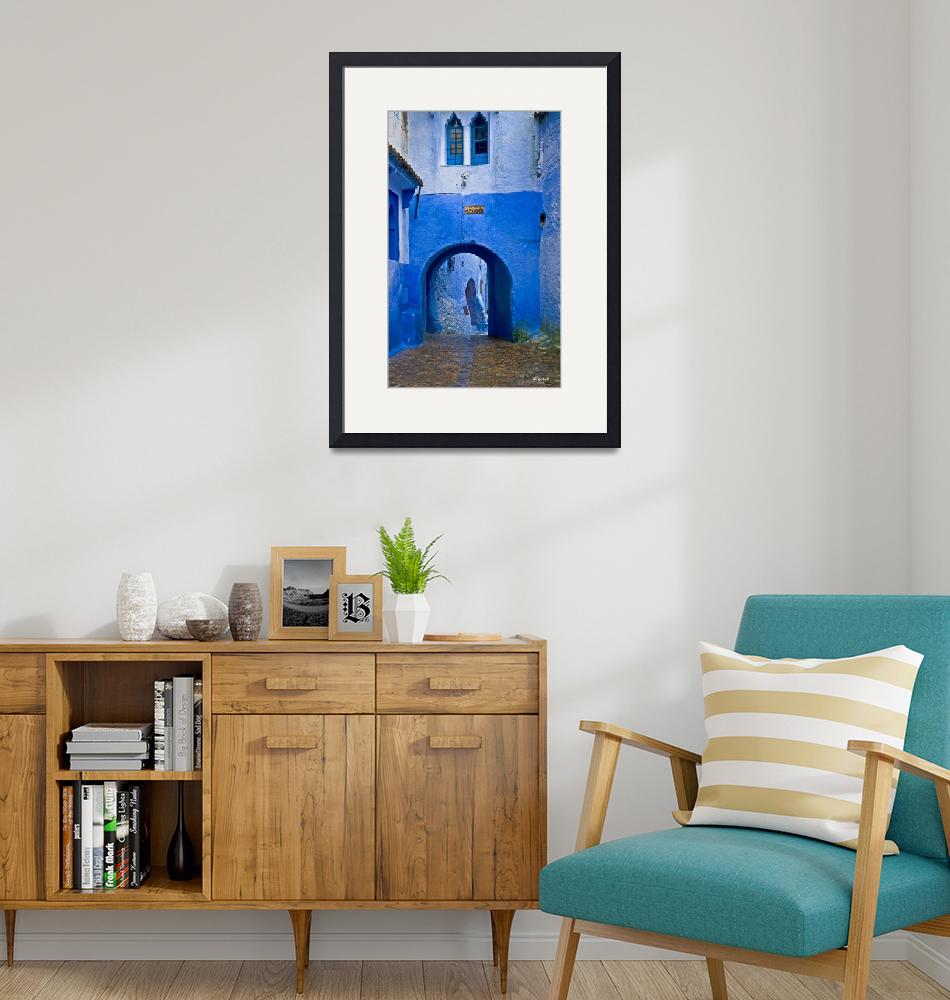 """""""Chefchaouen blues""""  by ChristopherByrd"""