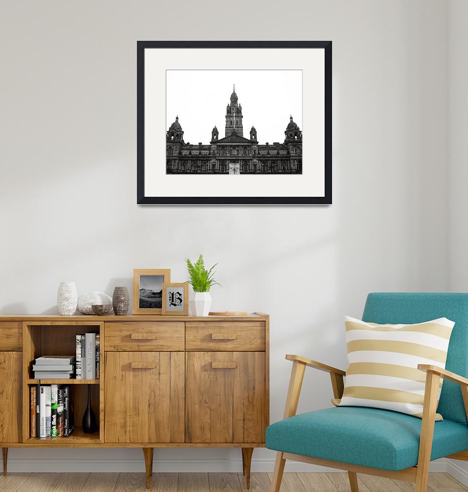 """""""Glasgow City Chambers""""  (2010) by RossPhotoWorks"""