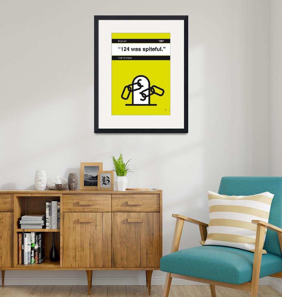 """""""No026-MY-Beloved-Book-Icon-poster""""  by Chungkong"""
