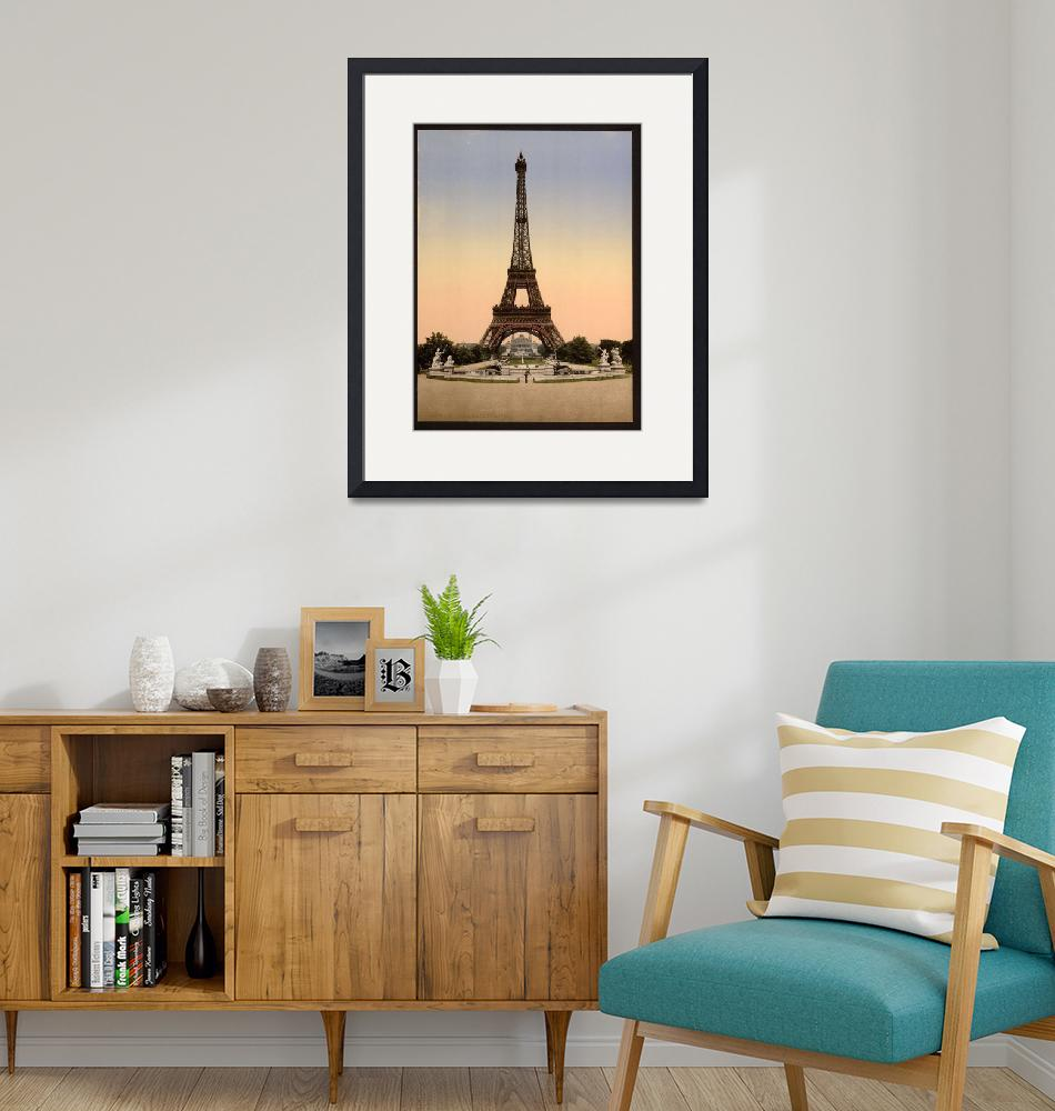 """""""Eiffel Tower Paris France 2""""  (2013) by TheNorthernTerritory"""